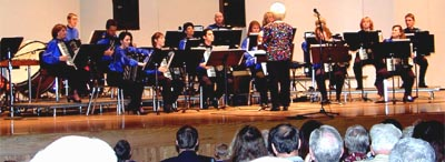 UMKC Accordion Orchestra in  Concert