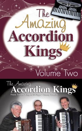 CD Cover of The Accordion Kings, Volume Two