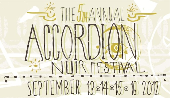 5th Annual Accordion Noir Festival Logo