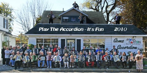 Acme Accordion School, National Accordion Month