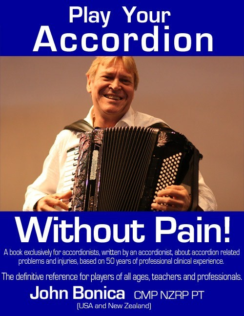 'Play Your Accordion Without Pain' cover