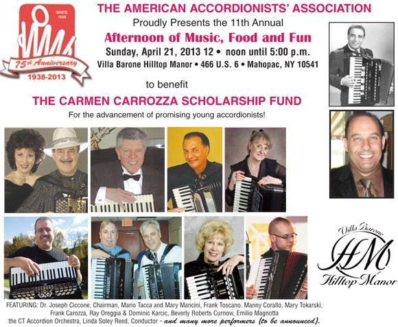 Carmen Carrozza Fund Poster
