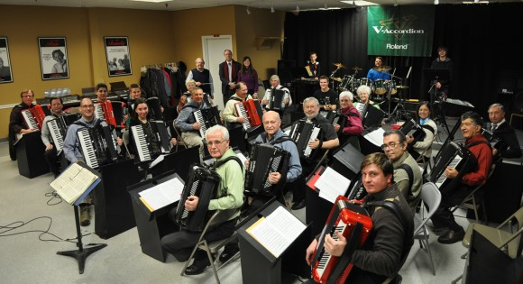 First USA Roland V Accordion Orchestra