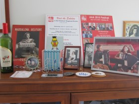 Media display - Maddalena Belfiore, AAA Posters - Joan Grauman