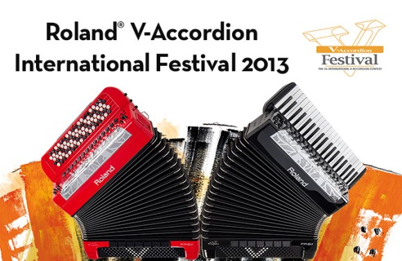 Roland V-Accordion Festival 2013 Poster