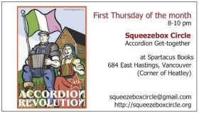 Squeezebox Circle Poster