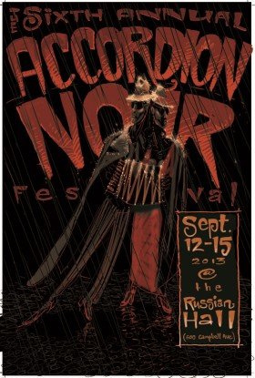 Accordion Noir Poster
