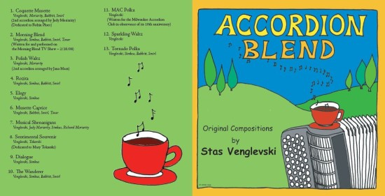 Accordion Blend CD by Stas Venglevski