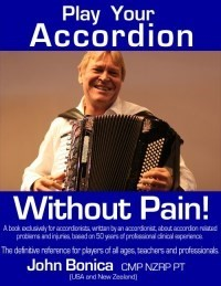 'Play Your Accordion Without Pain' book cover