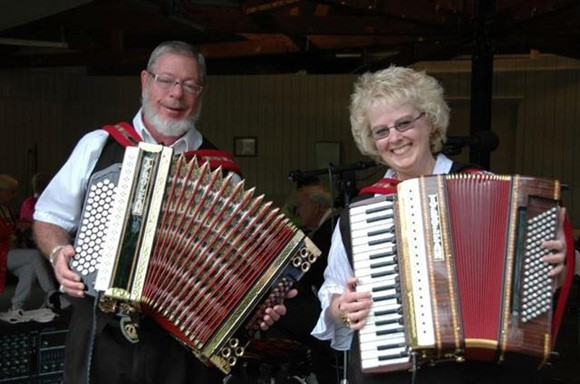 Ken and Mary Turbo Accordions Express Band