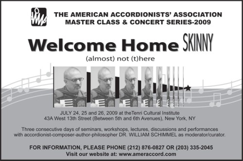 15th Annual American Accordionists' Association Master Class and Concert Series
