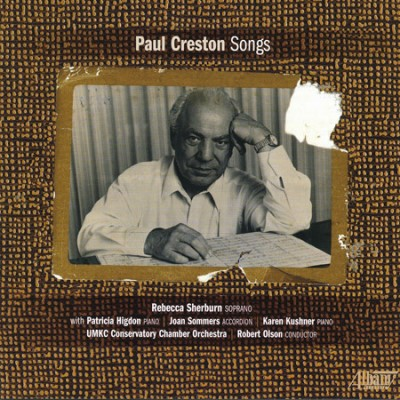 Paul Creston 'Songs' CD