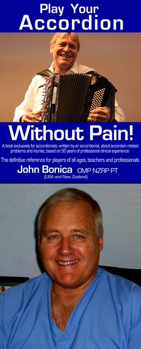 'Play Your Accordion Without Pain', book cover