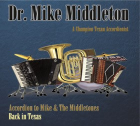 Back in Texas CD Cover