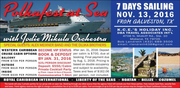 Polka Fest at Sea with Alex Meixner