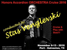 Accordion Cruise Conducted by Stas Venglevski