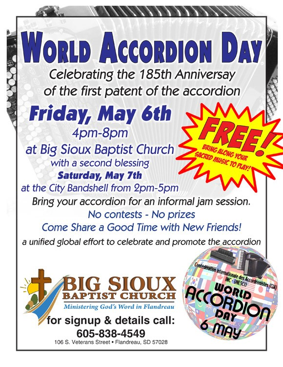World Accordion Day poster