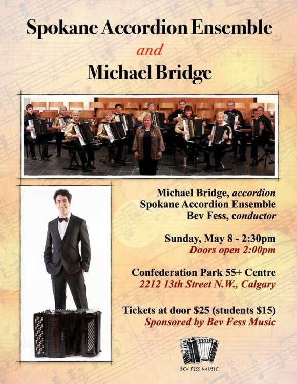 Michael Bridge and Spokane Accordion Ensemble