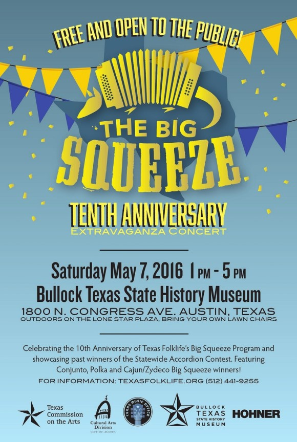 Texas Folk Life Big Squeeze