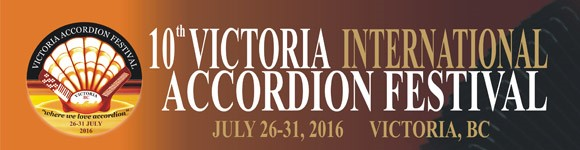 10th Victoria International Accordion Festival