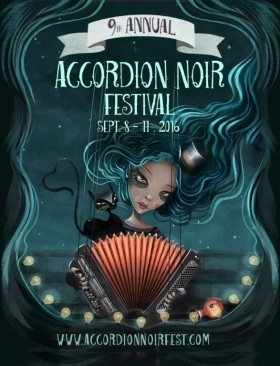 Accordion Noir