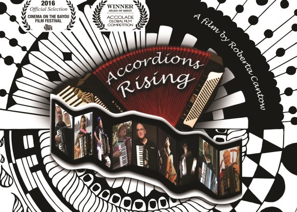 Accordions Rising Logo
