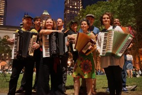 Bryant Park Accordions