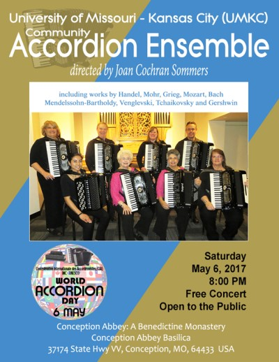 UMKC Accordion Ensemble Poster