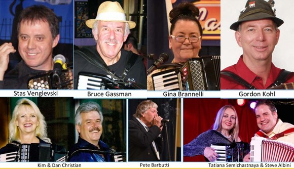 Las Vegas International Accordion performers