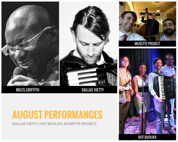 August Performances