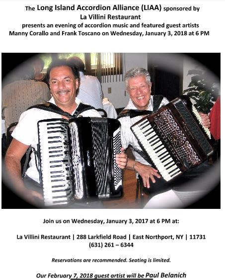 Accordion Evening With Evgeniya 12 13 And 14 February >> United States National News