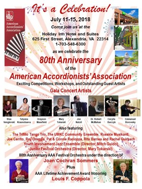 AAA 80th Festival poster