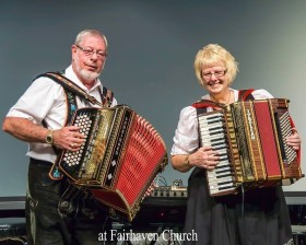 Ken and Mary 'Turbo Accordions Express`