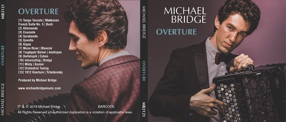 Michael Bridge Overture Album cover