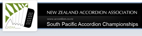 South Pacific Accordion Championships header