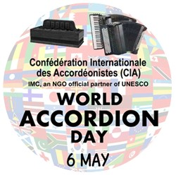 World Accordion Day (WAD) logo