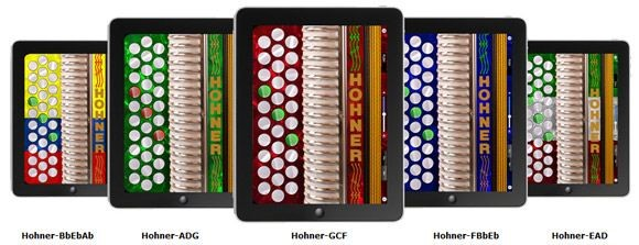 Hohner Squeezebox App for the Apple iPad, iPhone, and iPod Touch - Virginia